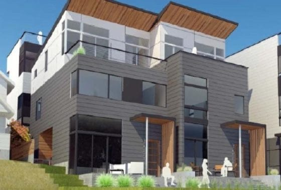 New Construction Seattle Home in Fremont Neighborhood