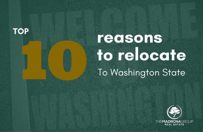 top 10 reasons to relocate to washington state