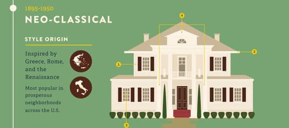 neo-classical home style